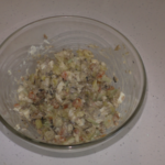 Салат рыбный со шпротами