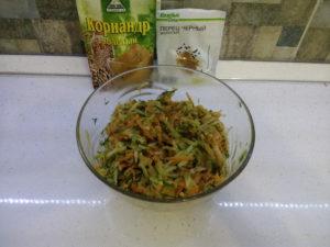 Салат зимний витаминный