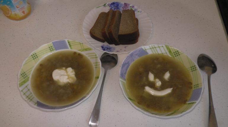 Суп чечевичный - видео рецеп