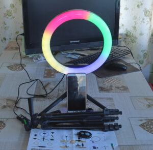 Светодиодная лампа для селфи